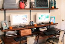 Home: Office / by Whimsy and Wood