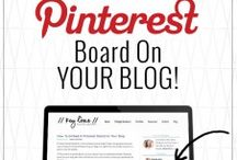 Pinterest Tips / Learn how to use Pinterest to grow your blog. Tips, tools, and strategies to help use Pinterest to market your business, and create content.