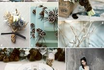 Winter Wedding Ideas / From warm winter colour schemes to all-white winter weddings