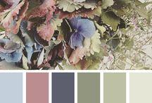 Приглушенная гамма -> Цвета / Muted Colors / Здесь собраны палитры и просто фото - примеры цветовых сочетаний с использованием приглушенных оттенков