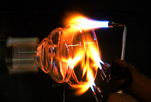 Scientific Glassblowing / Radleys are experts in the design and manufacture of exceptional quality scientific glassware. We have a long history (over 50 years) of working with scientists, chemists and engineers in the leading industrial and academic research facilities around the world. Whether you require a one-off prototype, a small flask or a complex reactor set-up, our team of design engineers and scientific glassblowers will be pleased to help with your project.