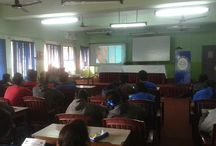 """School Contact Program @ Kendriya Vidhyalaya, Kolkata / UTM conducted an enlightening 'School Contact Program' at Kendriya Vidhyalaya, Saltlake No.1, Kolkata. The students were given exposure on the """"New Career Avenues"""" that they can join after schooling. Here are some moments captured."""