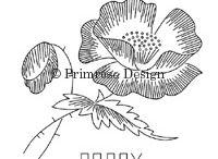 Embroidery - Flowers ~ vintage / Needlework