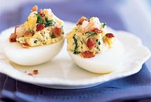 Eggs! / We love eggs! Scrambled, hard boiled, over easy, omelettes, etc., etc.! / by Squeeze In
