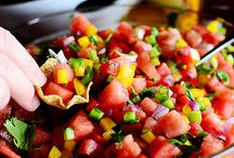Salsa + Pico / Whole food, plant-based Nutritarian Salsa + Pico recipes brought to you by Love Chard - www.LoveChard.com