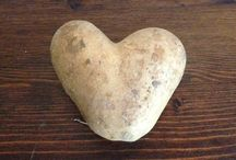 Hearts in everything / Just a shape but with a boundless meaning...