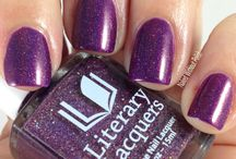 Literary Lacquers Swatches