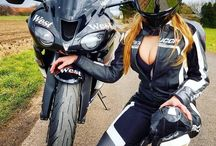 Motobike girl