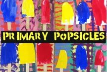 Primary/secondary color lessons