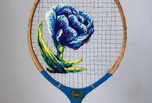 Ricamo Contemporaneo - Contemporary embroidery / IL RAMO D'ORO Arte e Cultura di tutto il mondo - Art and Culture of the World (Italiano & English) - Info https://ilramodoro-katyasanna.blogspot.it/p/il-ramo-doro-un-blog-in-italiano-e.html