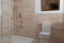 Bathroom Ideas / Home Bathroom layout and styling Ideas.