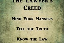 Lawyers Creed