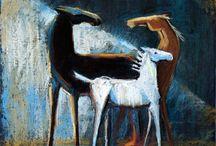 Pastel Painting by Fefa Koroleva / Pastel painting