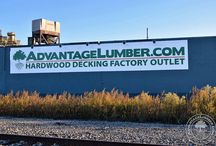 What's Happening in New York? / Our Buffalo, New York location has a full line of decking materials.