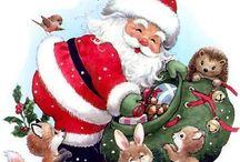 Jule billeder / Projekter, som jeg vil igang med. / Billeder som kan bruges til kort.