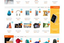 home page for store