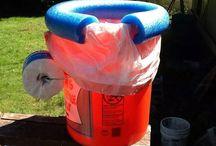 Buckets / Bucket ideas / by Diane Dowd