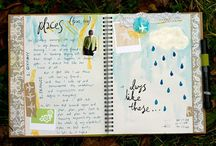 Art Journal/Smash Book/Mixed Media / by Tami Lynch
