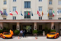 McLaren at Estoril / Coleccionadores de McLaren, de toda a Europa, juntam-se no Hotel Palácio. McLaren's collectors, from all over Europe, together at the Hotel Palácio.