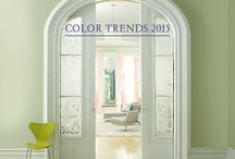 Benjamin Moore Color Trends 2015 / Benjamin Moore just released it's color trends for 2015.  Check out the wonderful color palettes!