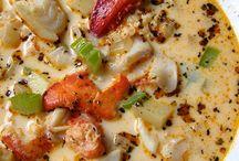 Seafood chowder / by Nancy Firth
