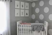 Baby - Nursery - Neutral / Boy & Girl Neutral Nursery Gray Yellow Green Blue Brown Orange Coral Teal Ideas  / by Casey Norris