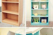 dollhouse bookself