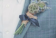 "Buttonholes ""One for the Boys"""