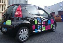 Lumia / O Carro de um dos donos da concorrência essa é que é essa!  Bj Lú!