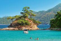 Thassos / Thassos, nazywana Szmaragdową Wyspą i Zielonym Diamentem Morza Egejskiego zachwyca wszystkimi odcieniami błękitu i zieleni. Łagodne zielone wzgórza pokryte sosnowymilasami malowniczo schodzą do kobaltowoniebieskiego morza, srebrzyste gaje oliwne od wieków dają wspaniałą oliwę, kuszą słodycze zanurzone w pachnącym miodzie.Żyje się tu ciągle wedle tradycyjnych greckich zwyczajów, bez pośpiechu, ciesząc się każdą chwilą.