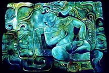 The Mayas / The Maya is a Mesoamerican civilization, noted for the only known fully developed written language of the pre-Columbian Americas, as well as for its art, architecture, and mathematical and astronomical systems. Initially established during the Pre-Classic period (c. 2000 BC to AD 250), according to the Mesoamerican chronology, many Maya cities reached their highest state of development during the Classic period (c. AD 250 to 900), and continued throughout the Post-Classic period.