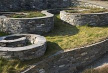 My favorite...stone walls and structure