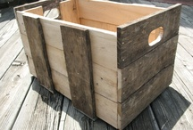 wooden crate