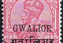 India - Gwalior Stamps