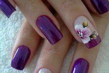 Nails + Makeup.