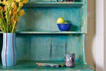 Decorative Painting, Shabby Chic, Vintage