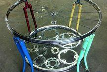 Reutilización partes bicicetas