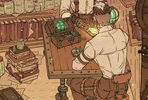 Steampunk Historia
