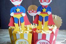 Avengers / superhero birthday party