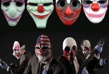Payday 2 Cosplay Masks