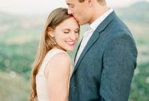 Fine Art Engagement Session / Outfit inspiration for your engagement session.  Light pastel colors, flowy fabrics.