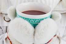 Winter Wonderland / Snow * Hot coco * Knit