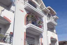 Résidence Villa Marine / 17 Logements du T2 au T4 avec balcons et terrasses à ciel ouvert au coeur de la ville d'été ( Bassin d'Arcachon) - France