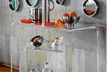 Lucite and glass for home decor / by Sara Busch-Florent