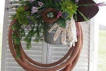 Wreaths / Ideas for making my own wreaths