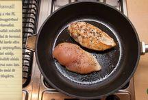 Videók / Videóinkkal még egyszerűbb egy gyors vacsora elkészítése. Chefbag-ed mellé kapott receptkártya videós változata.