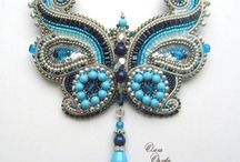 diy bead brooch