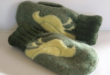 upcycled wool sweaters / by Gail Barnickol