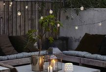 "Outdoor Lighting / Create ""zones"" in the garden with lighting just as you do indoors"