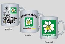 Tassen mit militärischen Motiven / Tassen mit militärischen Motiven / mehr Infos auf: www.Guntia-Militaria-Shop.de